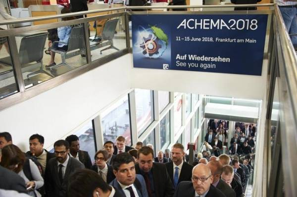 ACHEMA 2018 – Call for Papers für Kongress und Praxisforen