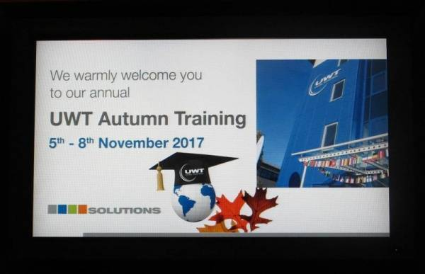 Welcome to the UWT Autumn Training
